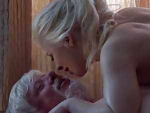 Old Youthfull Porn Grandpa Tear up Petite Teen Rubdown