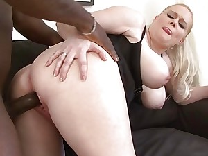 Fat Juicy Funbags Take Black cock and love BBC Breast