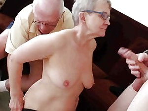 Elderly hubby fucked with youthful man