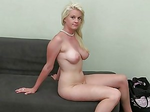 Adorable honey rails on a huge boner like a whore