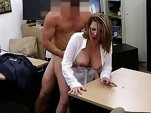 Wonderful wife pawns pussy for a plane ticket