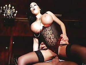 Big Tittied Whore Gets Humped In The VIP Apartment