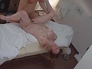 Gorgeous Massage Turns into Hard-core
