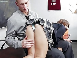 Ariana Grand gets a big drill