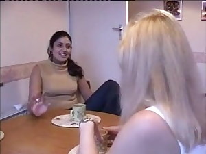 Indian Malvina and Brit Lisa
