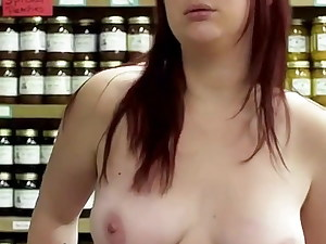 A Totally Bare-breasted Megan Harper