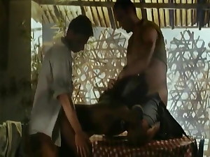 Ebony Bi-atch Can't Keep Her Hands Off Of White Boys