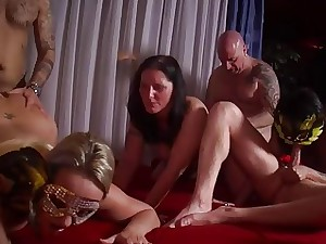 MMV FILMS Prex hot Unassuming German Of age Swinger Strip
