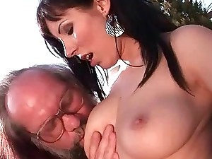 Grandpas plus Marvelous Teenager Brunettes